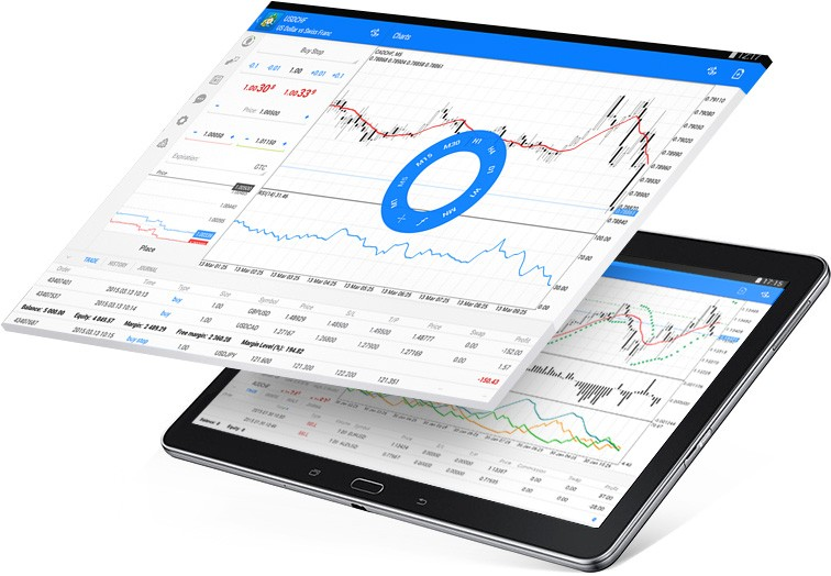 Use interactive charts and full-fledge technical analysis to perform market analysis with MetaTrader 4 Android