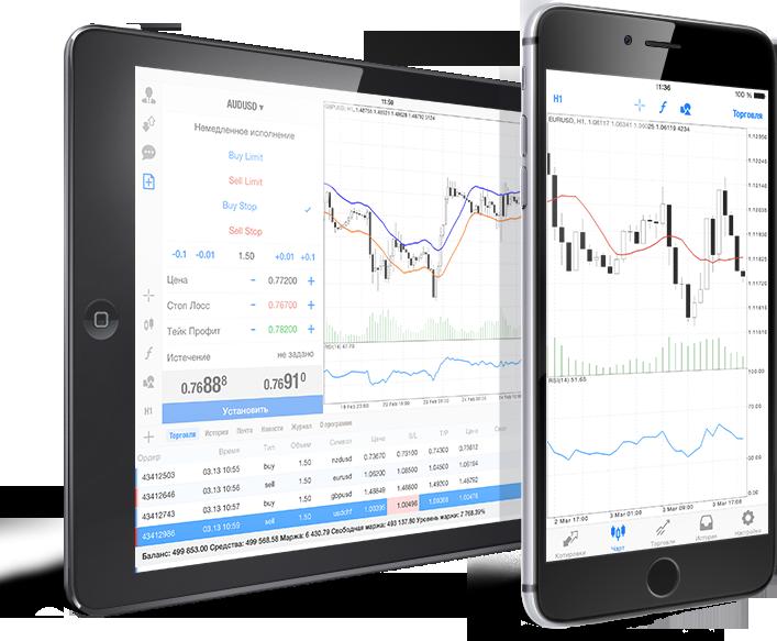 Мобильный трейдинг в MetaTrader 4Торгуй на Форексе при помощи MetaTrader 4 для iPhone и iPad для iOS