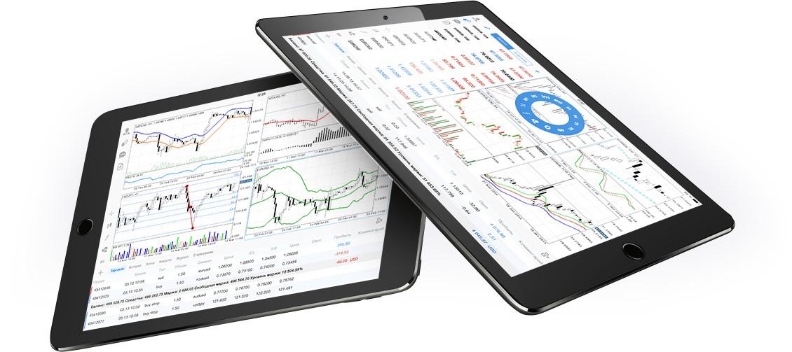 Полнофункциональный технический анализ в MetaTrader 4 iPhone/iPad поможет принять торговое решение