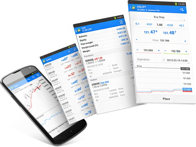 forex brokers on android