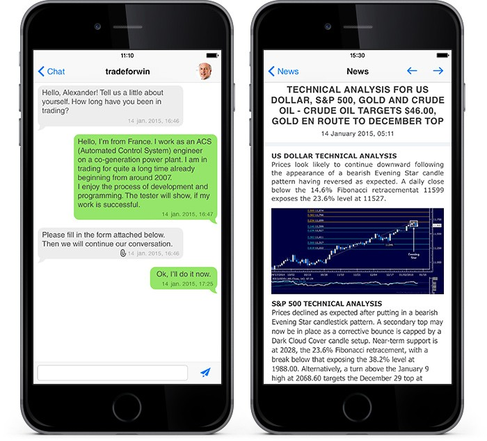 New MetaTrader 4 iOS: Enhanced News, Updated Chat and Support for 64-Bit Architecture