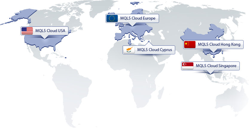 MQL5 Cloud Network: it networked the computers of many users from all over the world into a cloud computing network to provide additional computing capacities