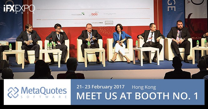 MetaQuotes Software participera au salon iFX Expo Asia 2017