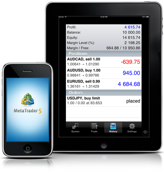 MetaTrader 5 for iOS is released