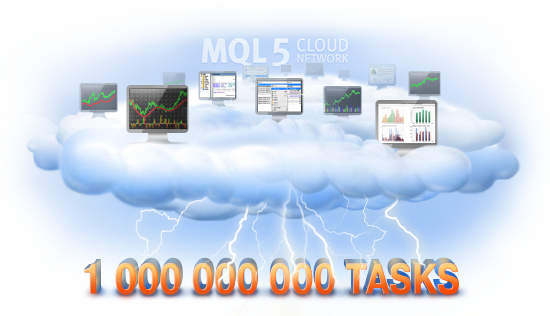 One Billion Tasks Executed with MQL5 Cloud Network!