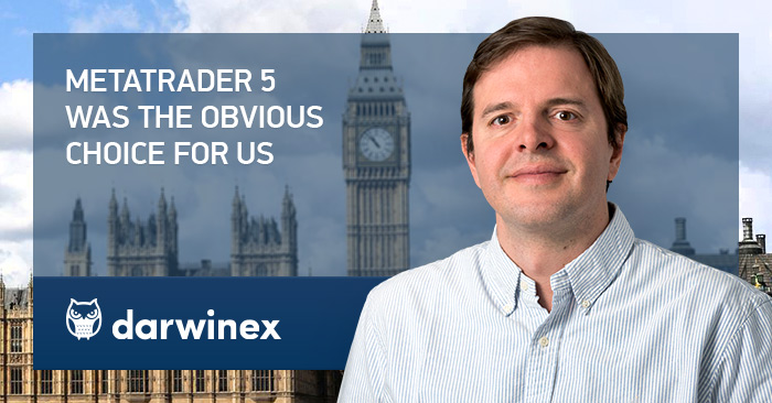 The UK based broker Darwinex chooses MetaTrader 5