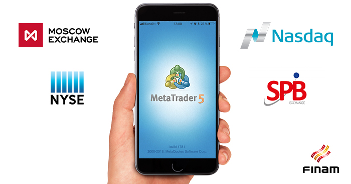 FINAM offers MetaTrader 5 with single account support