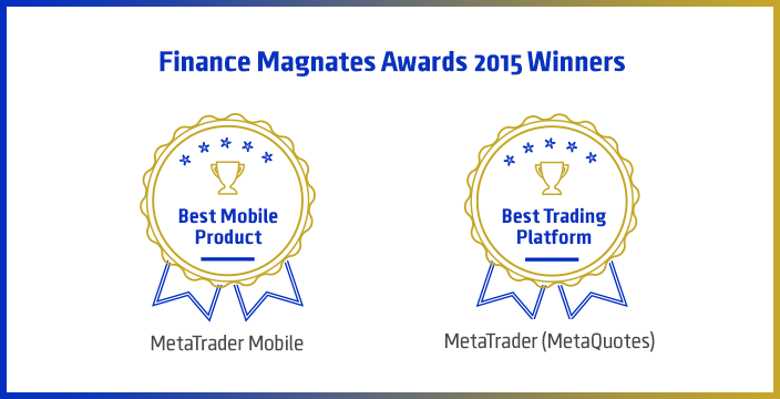 2015 Finance Magnates London Summit Awards: MetaTrader Trading Platforms Awarded with the Best Trading Platform and Best Mobile Product