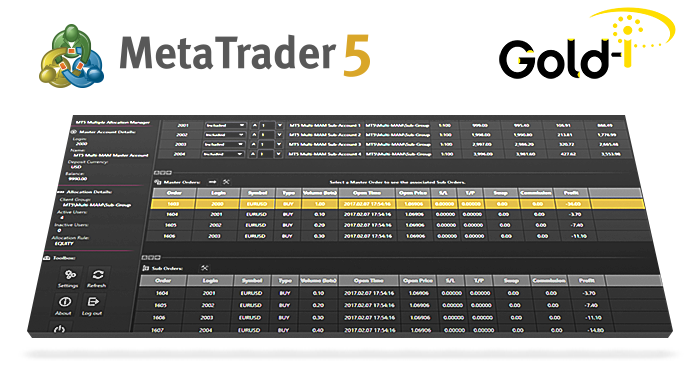 Gold-i Expands its Portfolio of MetaTrader 5 Brokerage Solutions