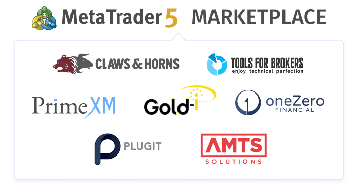 MetaQuotes Software launches the Market of brokerage solutions for MetaTrader 5