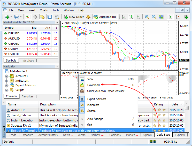 MetaTrader 4 build 910: Enhanced Code base and improved interface for Windows 10 - Release Notes