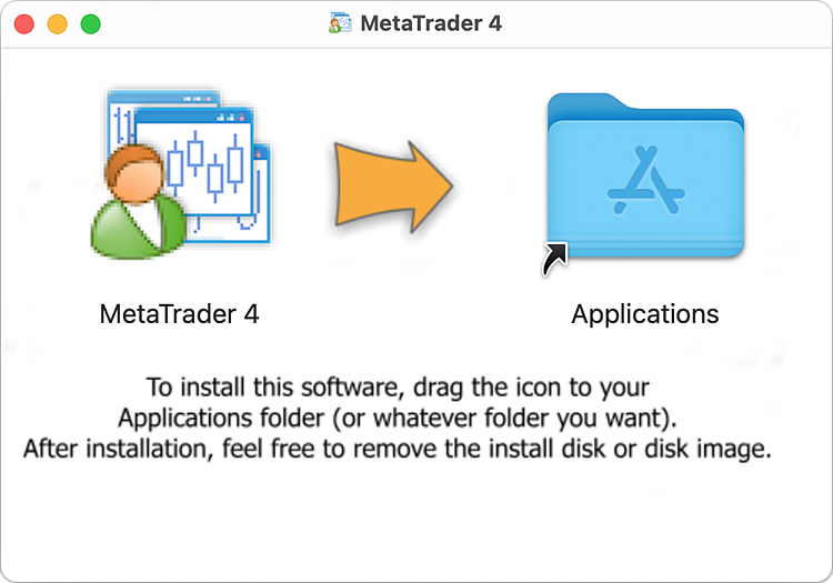 Installing the trading platform in Mac OS