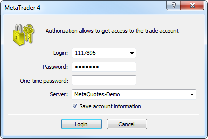 Authorization using OTP